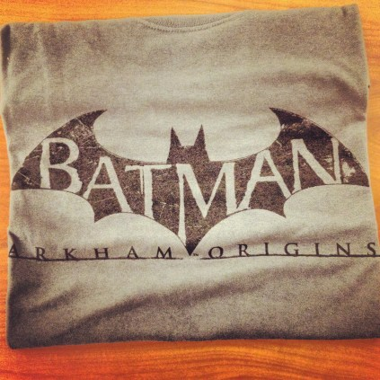 batman arkham origins shirt