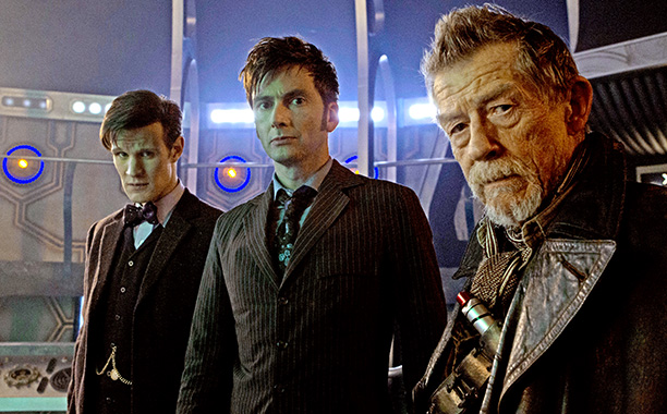 The-Day-of-the-Doctor-david tennant matt smith john hurt