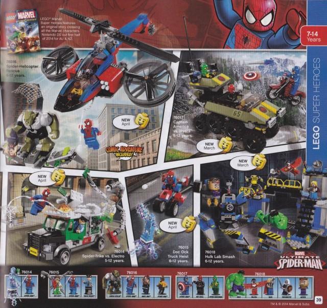 LEGO Marvel Superheroes 2014
