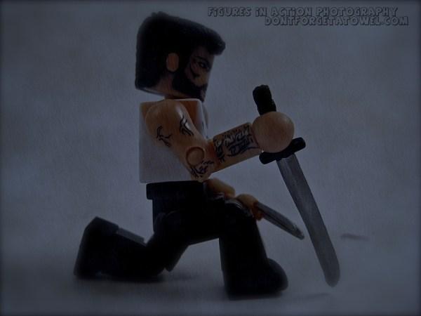 Minimates Wolverine rain poster
