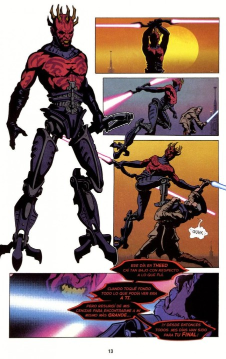 Star wars Visionaries darth Maul The Clone Wars