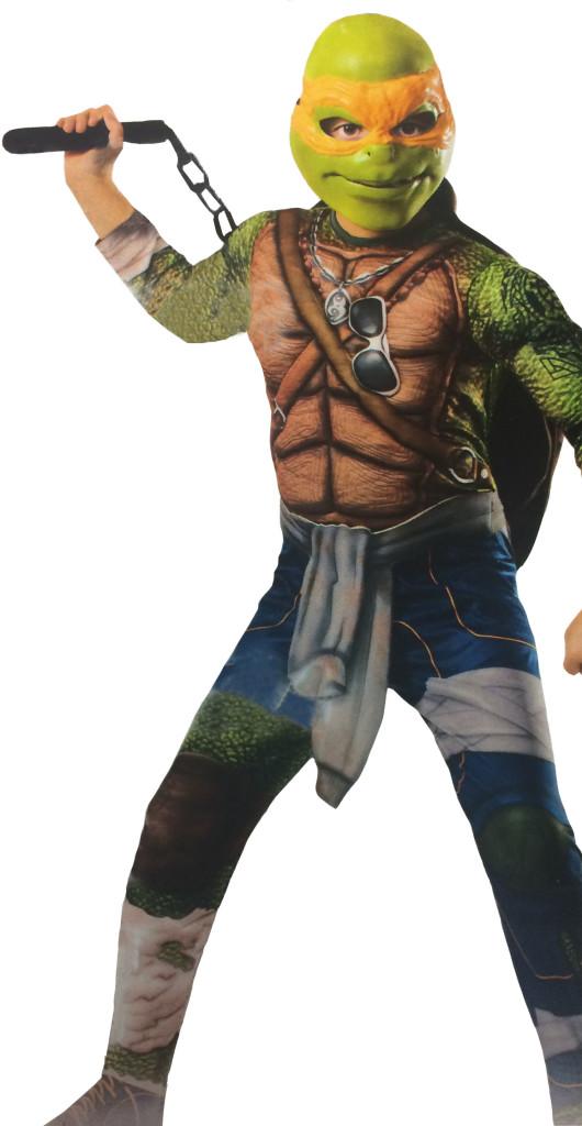 teenage mutant ninja turtles michaelangelo halloween outfit 2014