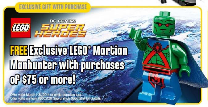 LEGO Martian Manhunter March