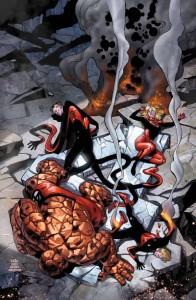 Fantastic Four 2 cover