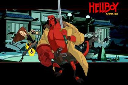 Hellboy animated