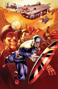 Captain America 19 cover
