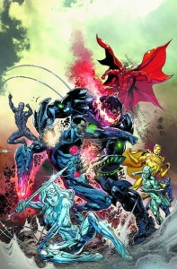 Justice League 29 cover