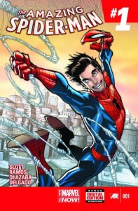 The Amazing Spider Man 1 cover
