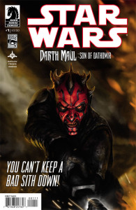 Darth Maul Son of Dathomir 1 cover