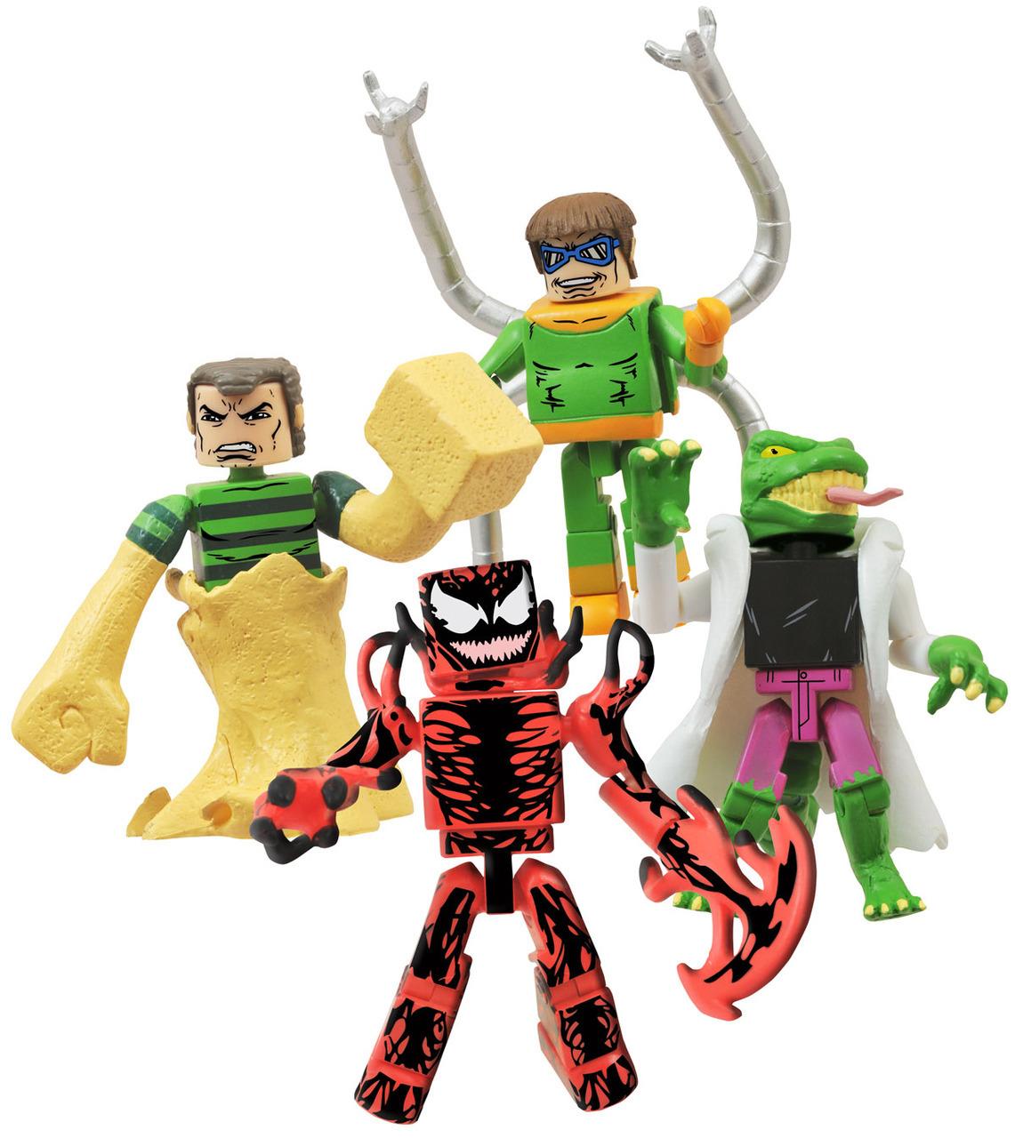 Marvel Minimates Deadly Foes of Spider-Man Arm Attack Doctor Octopus Octavius