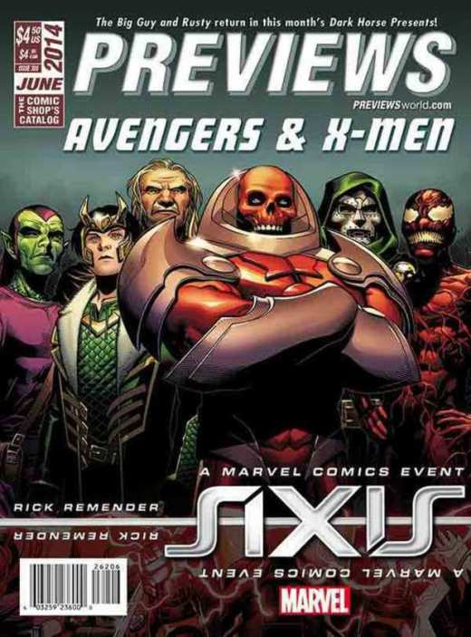 Marvel Axis villains