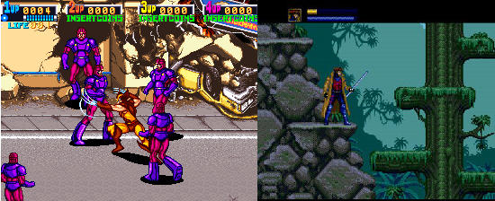 X Men video game