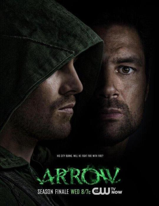 arrow-season-two-finale-poster