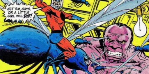 Darren Cross vs Ant Man
