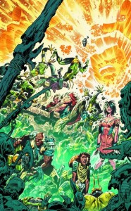 Infinity Man and the Forever People 1 cover