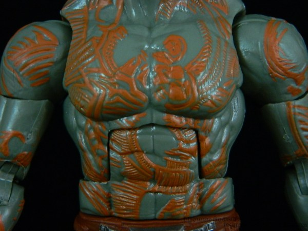 Marvel Legends Guardians of the Galaxy Drax 06
