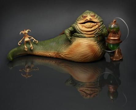 Star Wars Black SDCC Jabba the Hutt