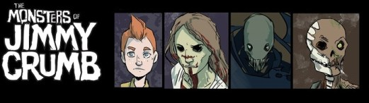 the monsters of jimmy crumb banner
