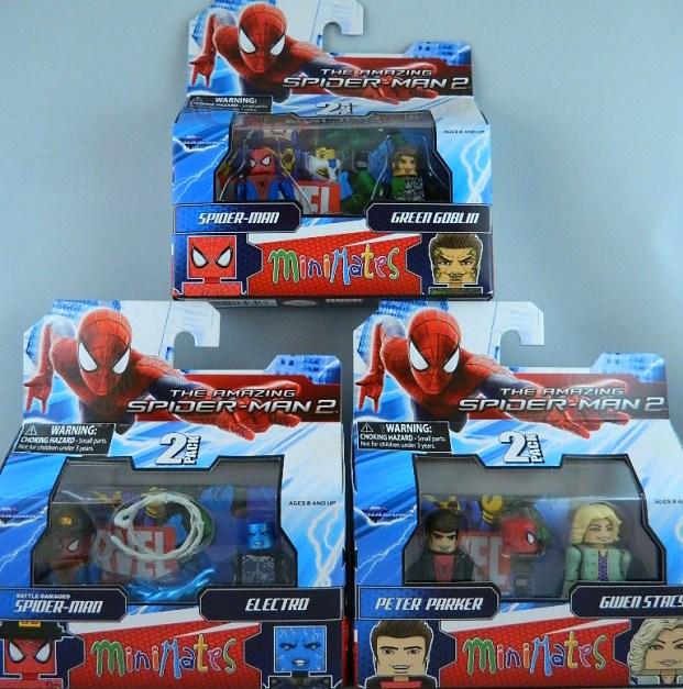 Amazing spider-man 2 minimates