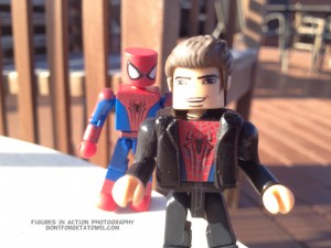 Peter and Spidey