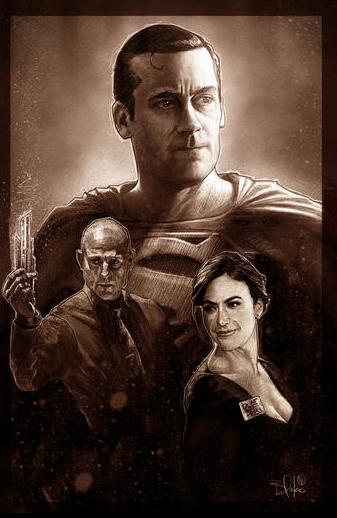 Jon Hamm Superman Blake Armstrong
