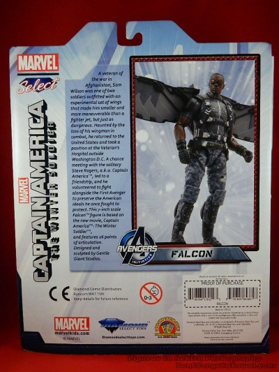 Marvel Select Falcon 03