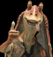 jar jar tongue