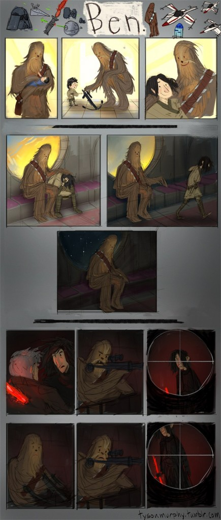 Ben Star Wars comic
