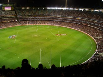 The MCG during AFL Finals time