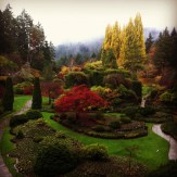 Butchart Gardens....before the change