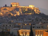 Illuminated Athens