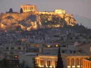 Illuminated Athens