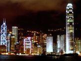 Illuminated Hong Kong