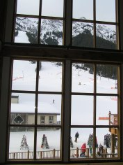 Skiing Window