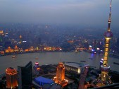On top of Shanghai, China