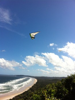 On top of Cape Byron Bay