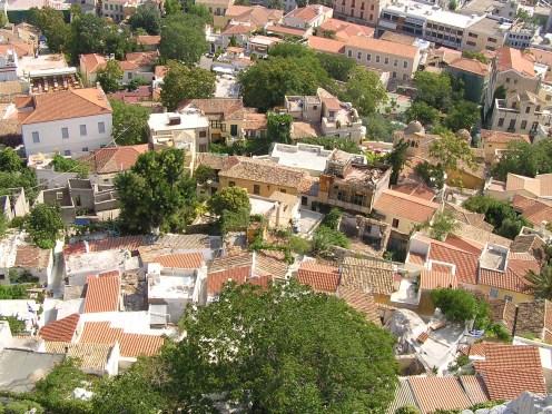 Athen's alleyways