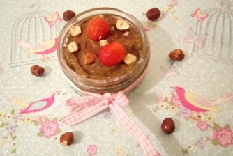 "Creamy chocolate nourishing ""notella"" pudding + 1/5 a day! Desserts Grainfree snack vegan"