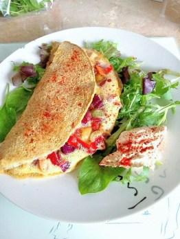 Moroccan lentil omelette Breakfast Dinner Grainfree Lunch
