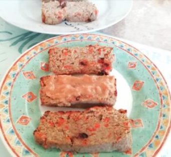 Grain free, carrot cake banana bread Breakfast Grainfree snack vegan