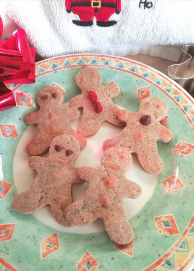 Healthier high fiber gingerbread cookies Desserts snack vegan
