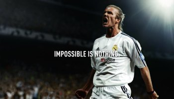 Motivational Wallpapers Adidas Impossible Is Nothing David Bekham