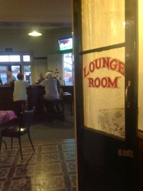 Public bar at the Railway Hotel, Grenfell, NSW