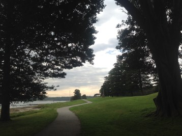 Parkland at Botany Bay National Park, near the landing site of Capt James Cook in 1770.