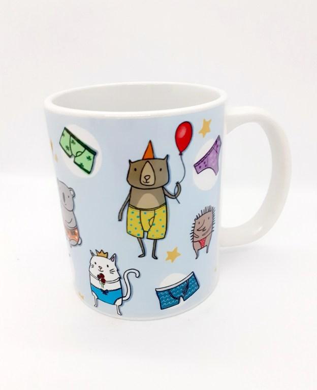 Positive Pants Mug 2