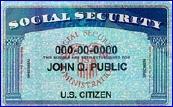 A fake ID card