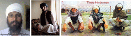 THE VARIETY OF STYLES AND COLORS OF TURBANS (2/6)