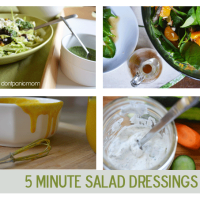5 Minute Salad Dressings