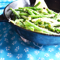 Perfect Garlic Green Beans