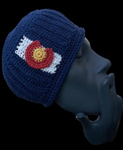 Colorado hemp beanie hat